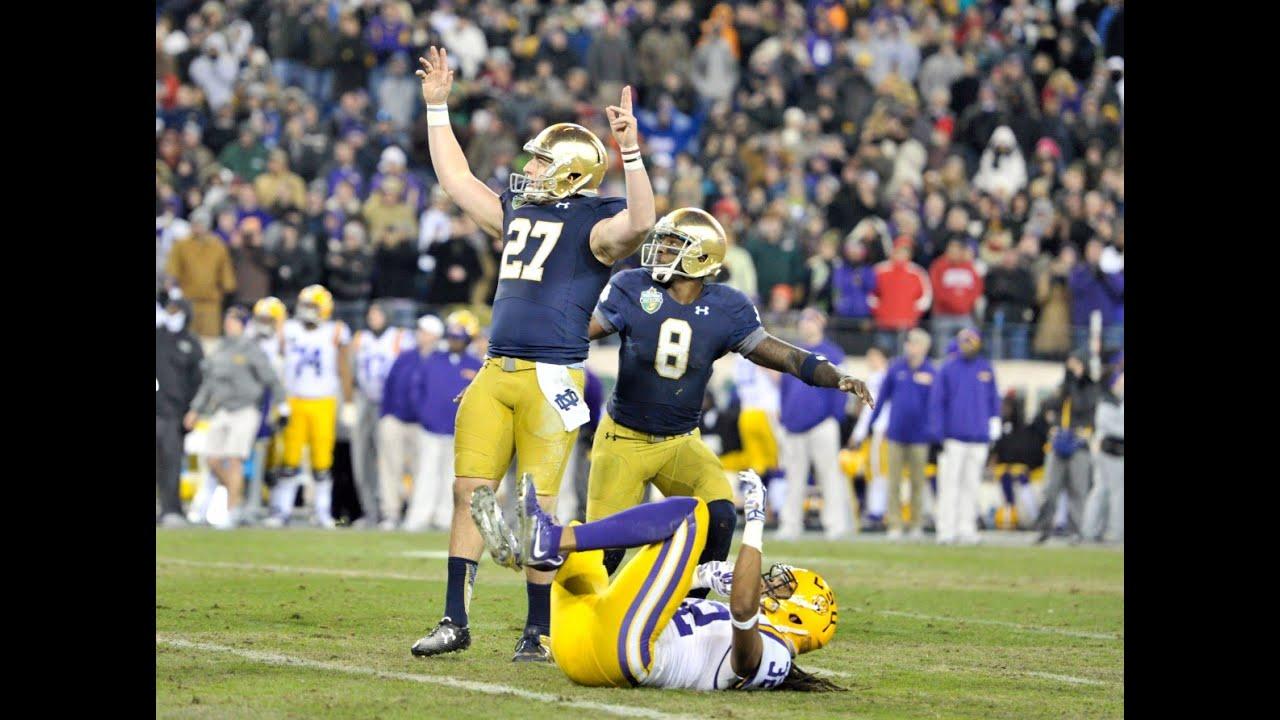 Notre Dame Football 2014 15 Season Highlights Youtube