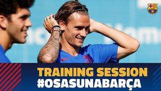 Ready for the match against Osasuna!