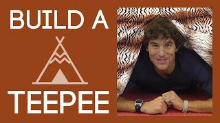 How to Build a Teepee: Easy Sewing Project with Rob Appell of Man Sewing