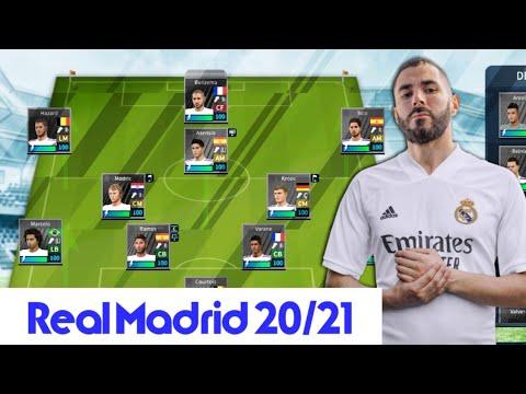 Real Madrid Yamasi 2020 21 Guncel Kadro Yeni Sezon Formalari Dream League Soccer 2019 Youtube
