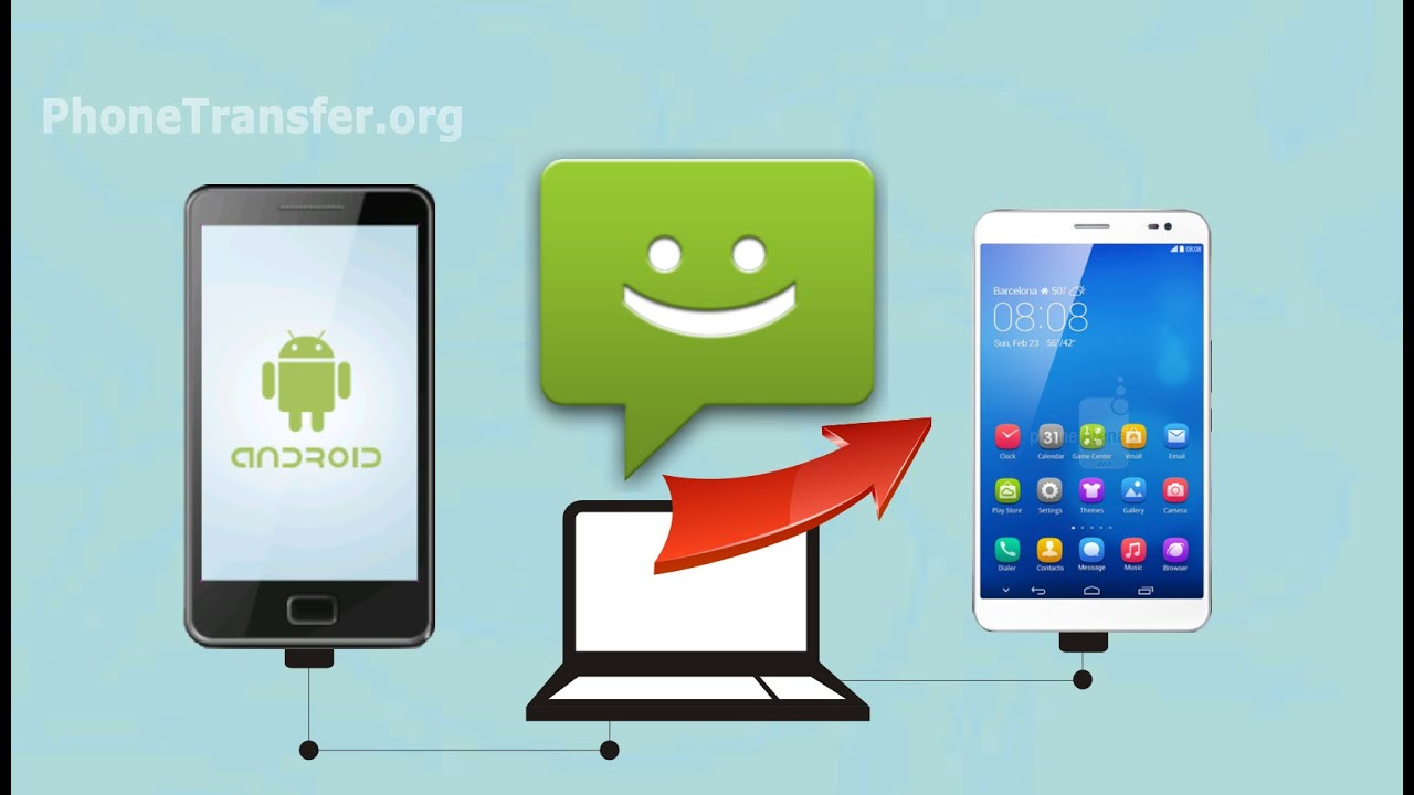 how to download text messages from android phone