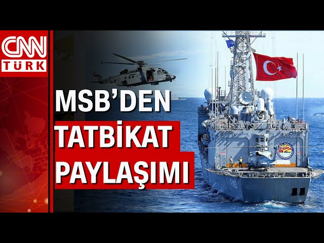 Denizkurdu-2021 Tatbikatı başladı! Dünya Türk donanmasını izliyor