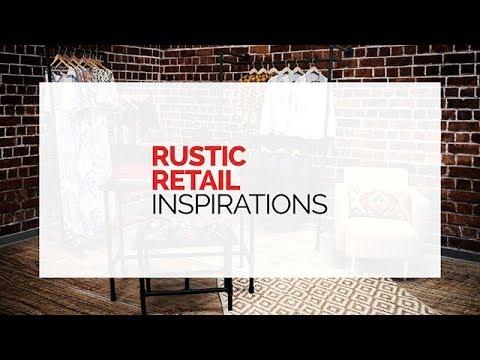 Industrial Rustic Retail Fixtures