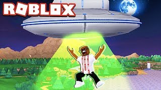ABDUCTED BY ALIENS IN ROBLOX (Roblox Alien Simulator)
