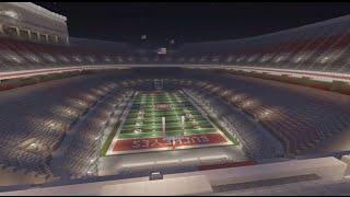 Ohio Stadium - Ohio State Football - Minecraft Creative Build