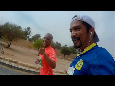 I Finished Riyadh Marathon 2018