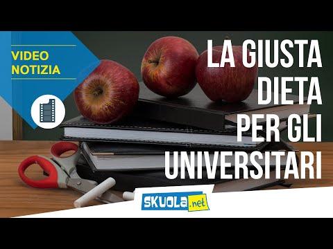 Esami universitari: la dieta per concentrarsi  meglio
