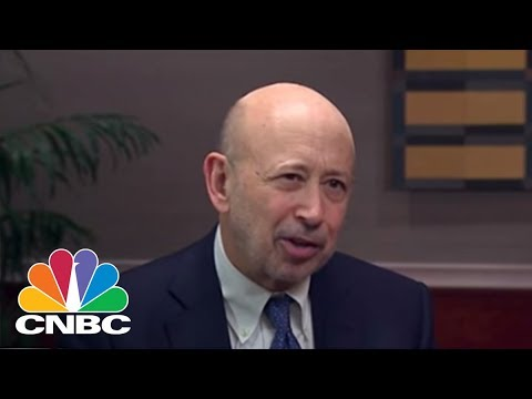 Goldman Sach\'s Lloyd Blankfein Says View On President Trump Is Both Critical And Constructive | CNBC