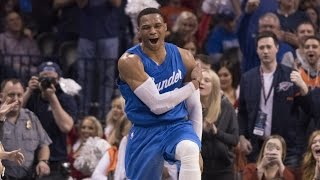 Russell Westbrook 31 Points, 15 Assists on Christmas Day! | 12.25.16