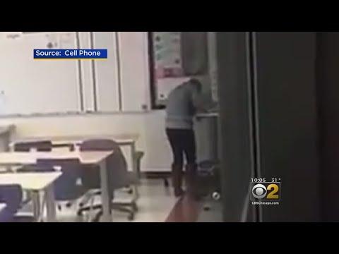 Students Catch Teacher Doing Drugs In Classroom: Authorities