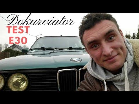 BMW E30 TOURING TEST-Jazda z Dokurviatorem