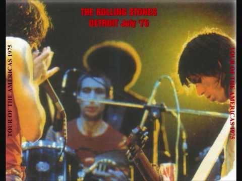 Rolling Stones - Live 1975 - Detroit