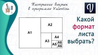 Какой формат листа выбирать в параметрах раскладки
