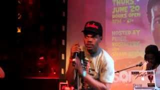 Chance The Rapper: Favorite Song Live @ SOB