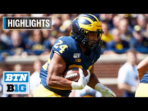 Highlights: Michigan Beats Army In Double OT | Army At Michigan | Sept. 7, 2019