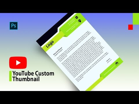 How to Make an Attractive YouTube Custom Thumbnail in Photoshop in Hindi