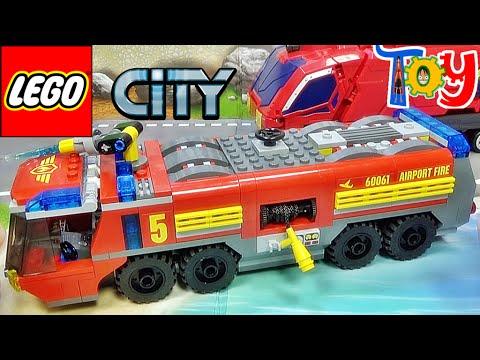 레고 시티 공항 소방트럭 60061 소방차 조립 리뷰 Lego City Airport Fire Truck