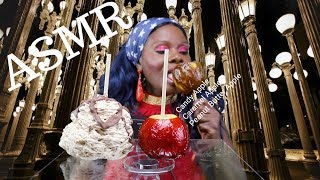 Avalanche Candy Apple Mukbang ASMR Eating Sounds���...