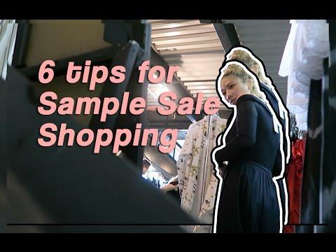 6 Tips for Sample Sale Shopping