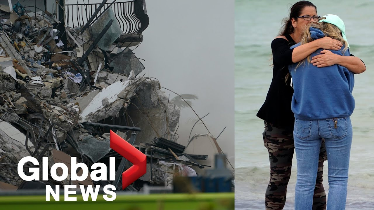 Desperate search for Surfside building collapse survivors continues ...
