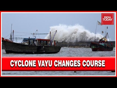 Cyclone Vayu Not Likely To Cross Coastal State Of Gujarat, To Affect Diu, Junagarh \u0026 Rajkot