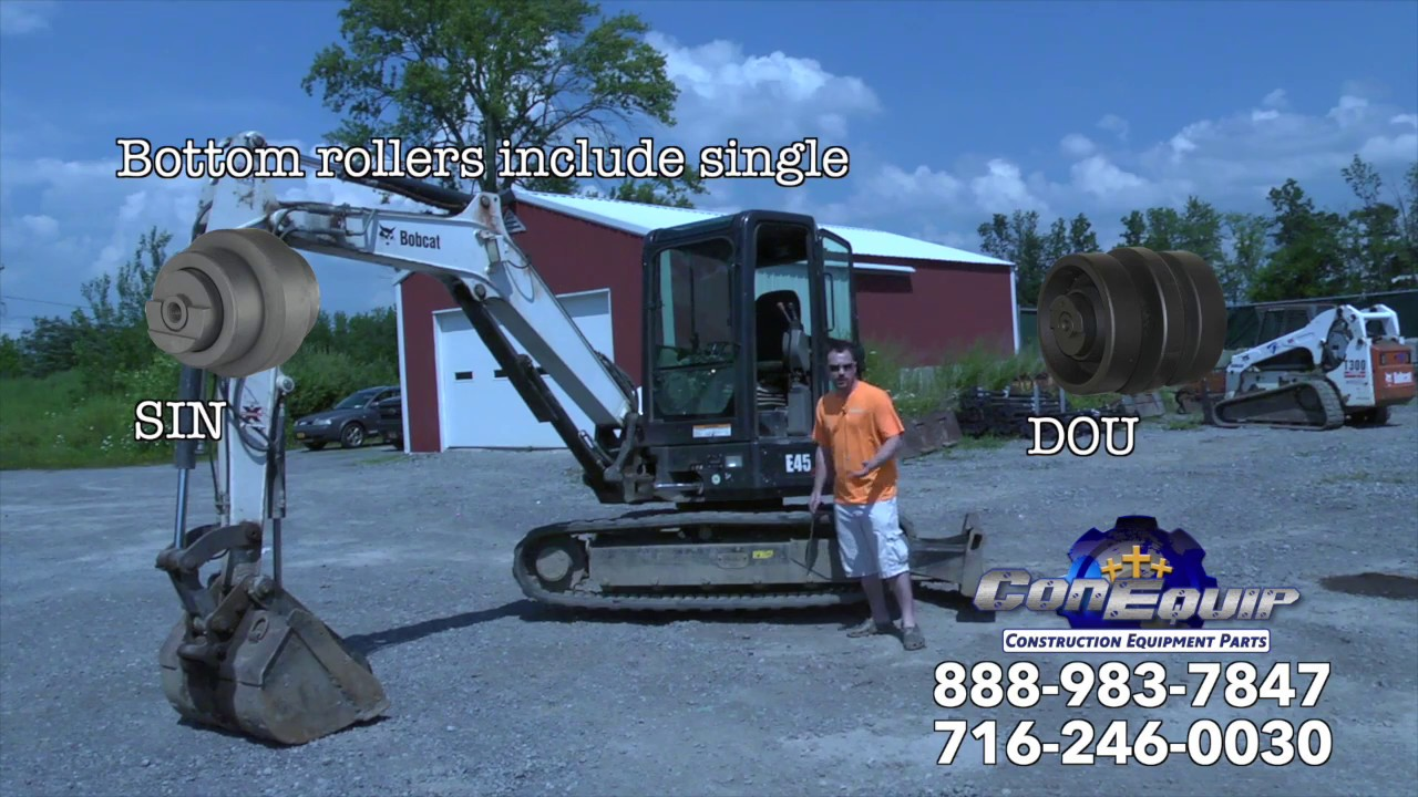 Mini Excavator Rental - Knowing the Undercarriage! - YouTube