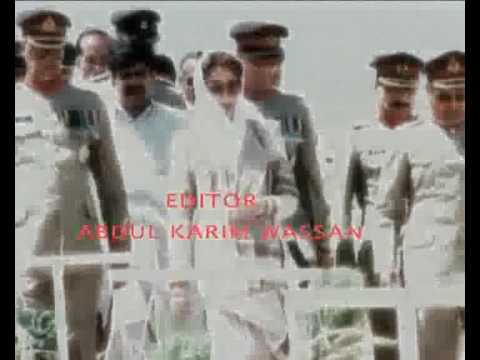 Benazir bhutto(BB) song 18 oct karim wassan 2009