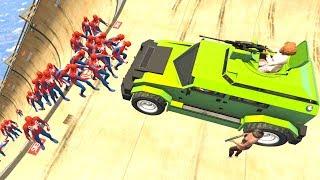 GTA 5 Crazy Ragdolls Spiderman Compilation #3 (GTA 5 Euphoria Physics Fails Funny Moments)