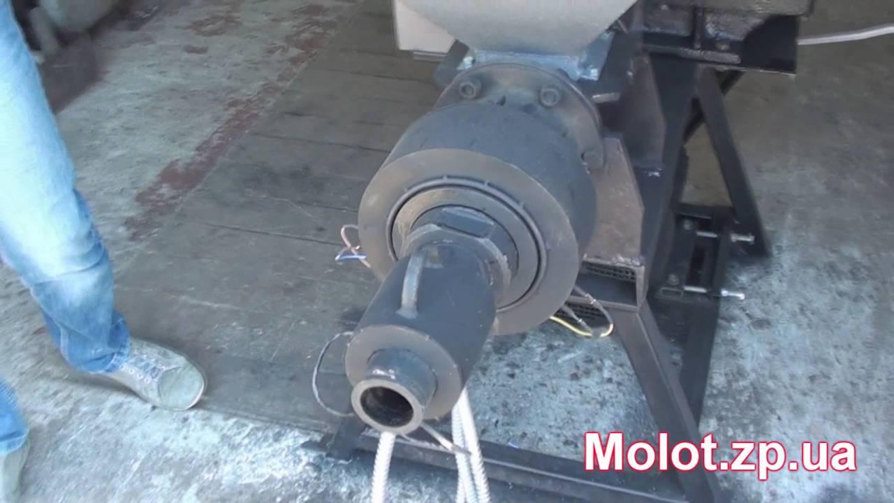 Обзор шнекового пресса производительностью 150 кг  в час