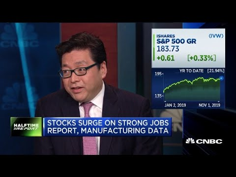 Earnings Growth Next Year Will Be Double Digits: Markets Bull Tom Lee