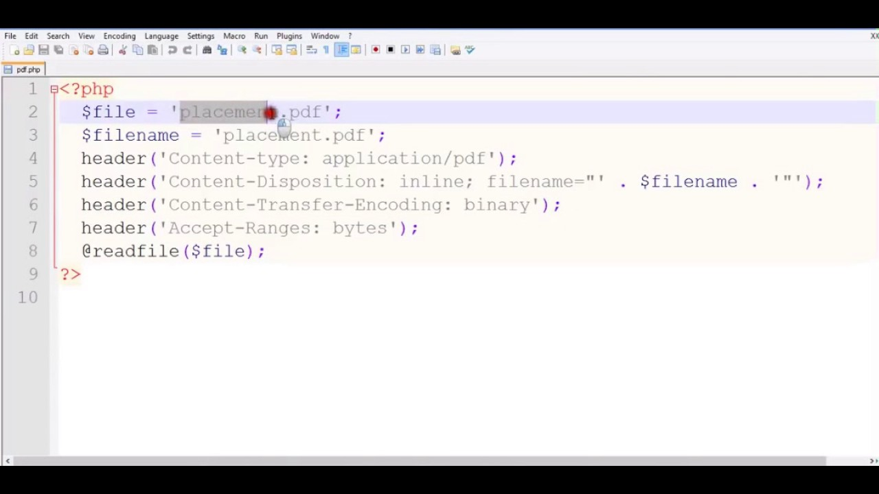 how to display in php