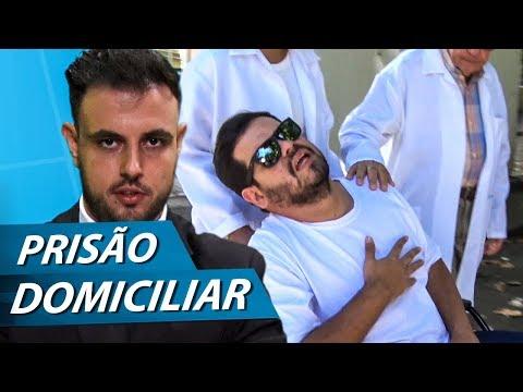 URGENTE: PRISÃO DOMICILIAR   PARAFERNALHA