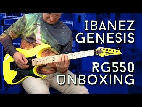 Ibanez RG550 Genesis Unboxing and 1st Impressions