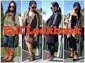 FALL LOOKBOOK 6 outfits How I style my JUST FAB boots FALLing to Autumn Collab