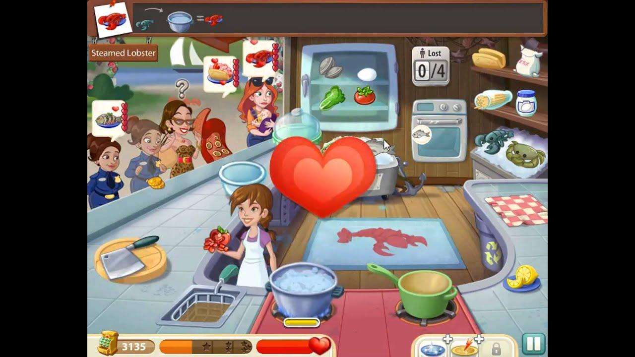 kitchen scramble level 139 - youtube