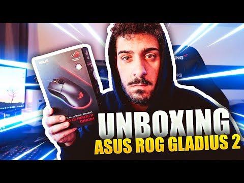 UNBOXING MOUSE ASUS ROG GLADIUS II ORIGIN