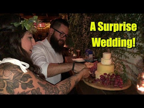 a-surprise-wedding-with-a-cheese-wedding-cake!