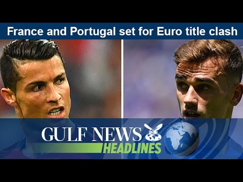 France and Portugal set for Euro title clash - GN Headlines
