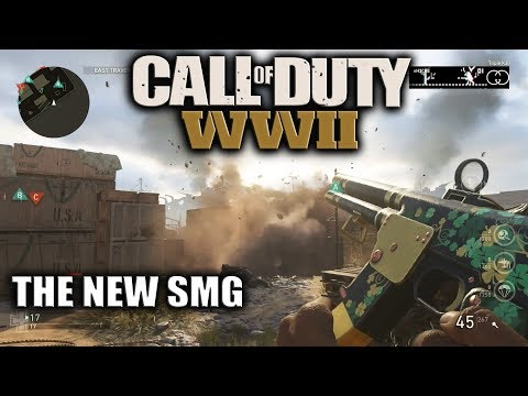 BRAND NEW M38 SMG GAMEPLAY ON SHIPMENT 1944 24/7! 😈 BRAND NEW GUNS IN CALL OF DUTY WW2
