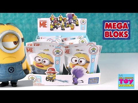 Thumbnail: Minions Despicable Me Mega Bloks Series 8 Blind Bag Opening Building Fun | PSToyReviews