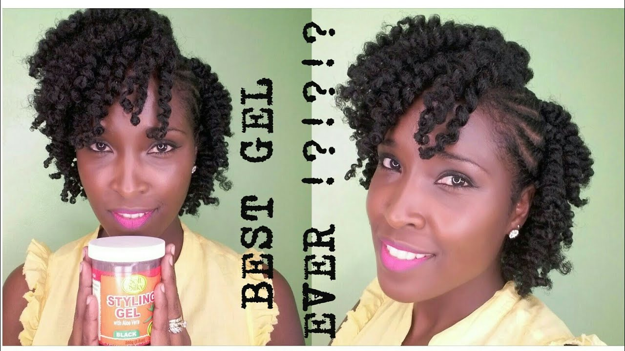 Best Gel For Natural Hair Soft N Silky Product Review Youtube