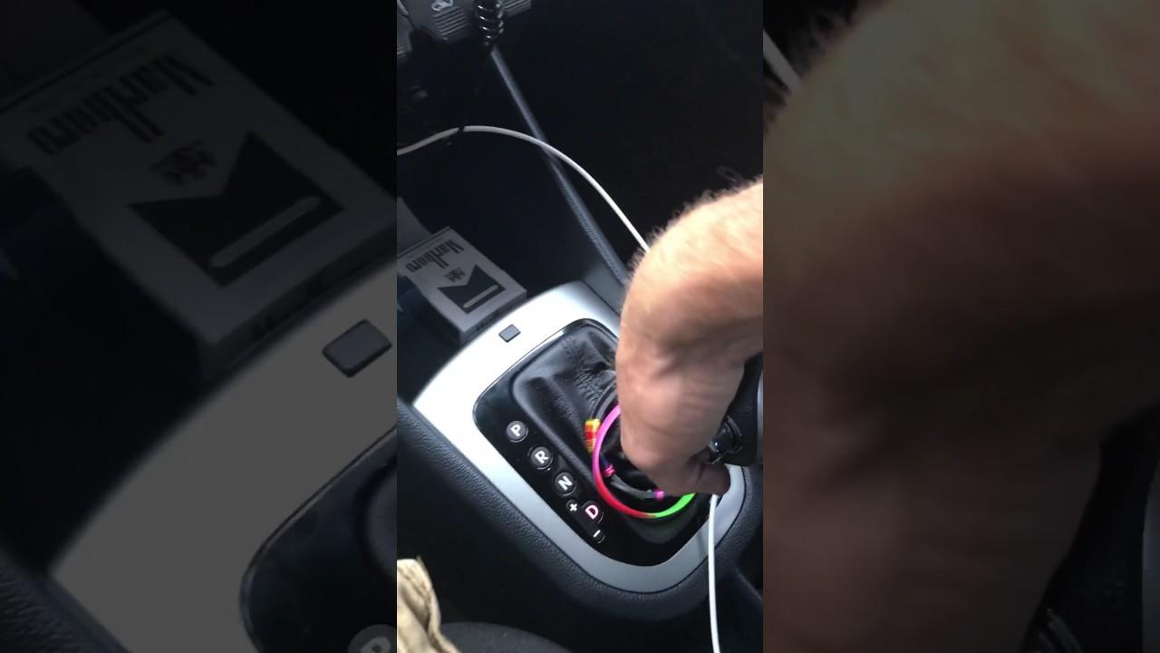 Kia Forte: Shift Lever Removal