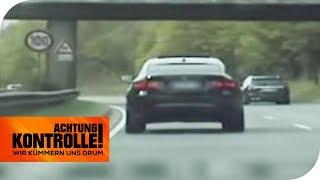 Dreister BMW-Raser auf der Autobahn! Droht ein Fahrverbot? | Achtung Kontrolle | kabel eins