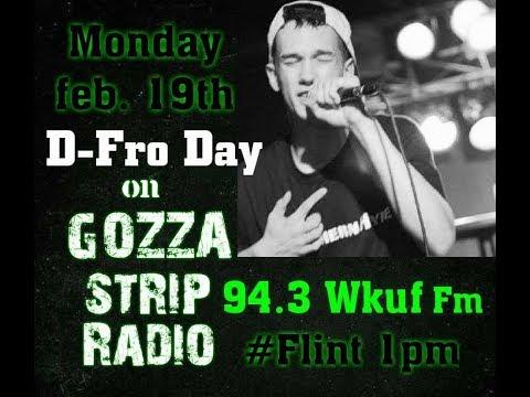 D-Fro Day on Gozza Strip Radio 2018