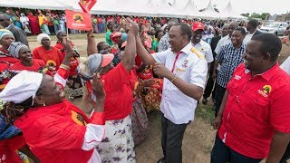 Elect leaders who are ready, willing to work for you - President Uhuru Kenyatta