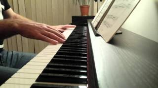 """""""Dirty Diana"""" piano cover"""