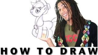 How to Draw Applejack From My Little Pony: Friendship is Magic