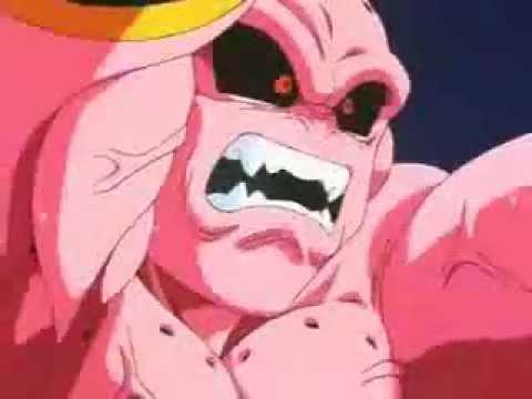 Goku Mata  a Majin boo ultima Parte