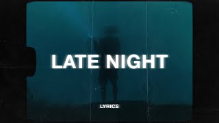 Belfa - late night thoughts (Lyrics) ft. kayli marie