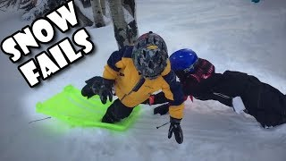 Funny Fails - Funny Snow Fails Compilation December 2018
